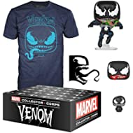 Funko Marvel Collector Corps, Subscription Box, Venom Theme, September, Medium T-Shirt Size,...
