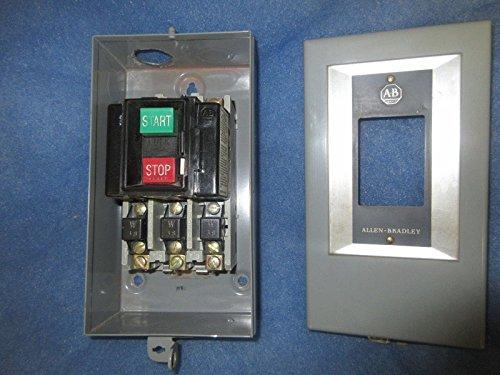Allen Bradley size 0 Manual Motor Starter 609-AAW 600V 3 - 600v Starter
