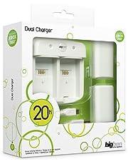 BigBen Interactive Dual Charger per XBOX360, colori assortiti