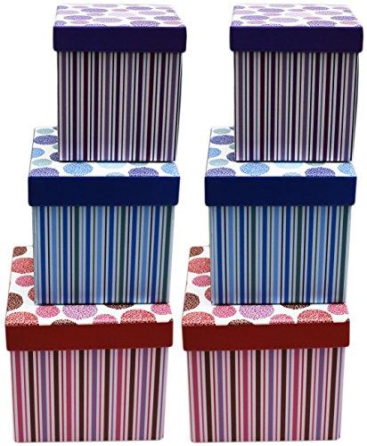 Medium Square Gift Boxes - 3