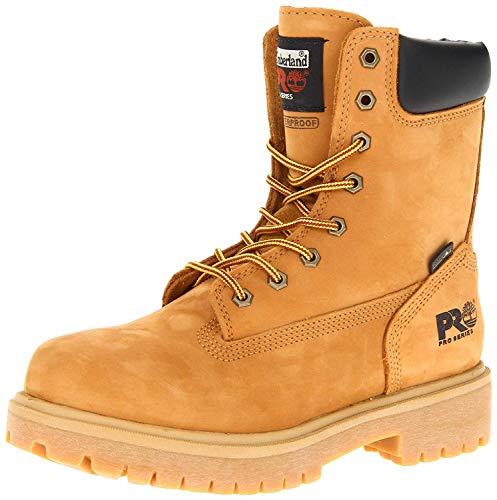 "Timberland PRO Men's Wheat 26011 Direct Attach 8"" Soft-Toe Boot,Yellow,9.5 W"