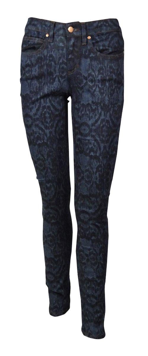 Eileen Fisher Women's Faded Ikat Skinny Jeans (2, Indigo) by Eileen Fisher