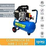 Igoto Pump COMP-24 Compresor de Aire, 24 l