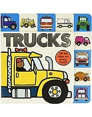 Lift-the-Flap Tab: Trucks