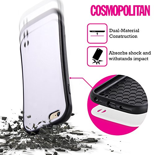 Official Cosmopolitan Peach Leopard Pastels Hybrid Case for Apple iPhone 5 / 5s / SE