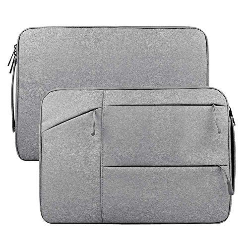 AmigosLive 15.4 Inch Laptop Sleeve, Portable Handle Protective Notebook Case Bag for 14