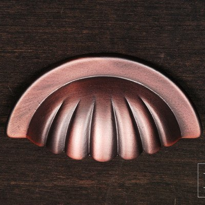 R.K. International CF 5251 DC Rki - Distressed Copper Heavy Half Melon Cup Pull ()