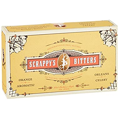 Scrappy's Bitters, Classic Sampler Pack, 4 count, 0.5 ounce each