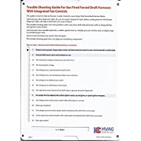 HVAC Furnace Troubleshooting and Repair Slide Chart by HVACcharts