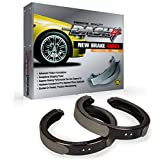 Dash4 B796 Bonded Style Brake Shoes