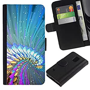KingStore / Leather Etui en cuir / Samsung Galaxy S5 V SM-G900 / Colores