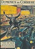 In una strada di New York, congestionata dalla febbre natalizia, postino si mette a risalire il fiume di auto, balzando di macchina in macchina.