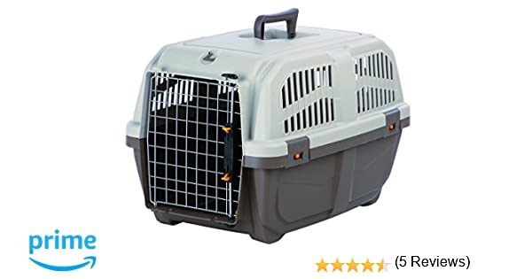 Transportín Skudo 3, 40×39×60cm, Mrr.Grisác./Arena: Amazon.es: Productos para mascotas