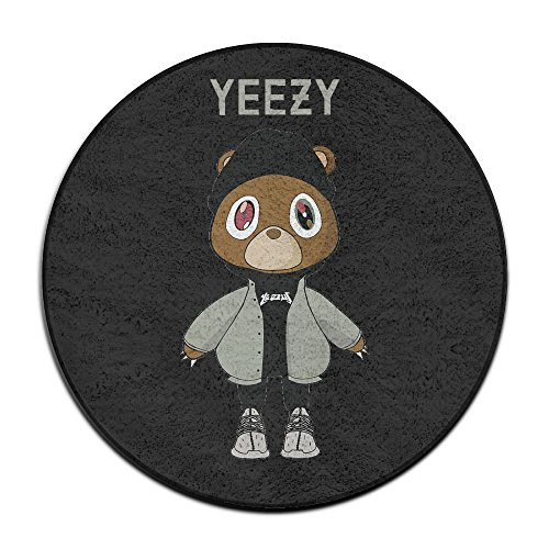 ALIIXUN2 Yeezy Kanye West Bear Doormats / Entrance Rug Floor Mats