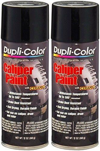 - Dupli-Color BCP102 Gloss Black Caliper Paint with Ceramic 12 oz. Aerosol (2 PACK)