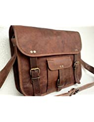 QualityArt Leather Shoulder Bag Women Purse Handbag Crossbody Ipad macbook Laptop Bag Sling Bag School Everyday...