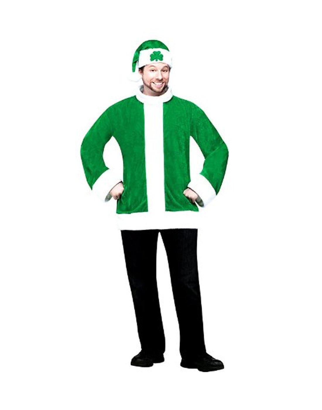 Fun World Santa O Claus Christmas Jacket Hat Set Standard
