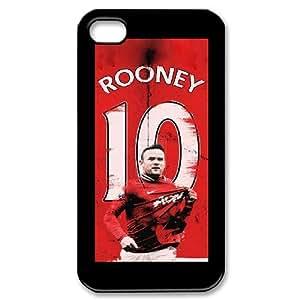 WJHSSB Wayne Rooney Phone Case For Iphone 4/4s [Pattern-3]
