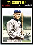 2012 Topps Archives Baseball Card IN SCREWDOWN CASE #74 Ty Cobb ENCASED