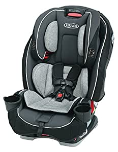 Graco SlimFit 3 in 1 Convertible Car Seat   Infant to Toddler Car Seat, Saves Space in your Back Seat, Darcie