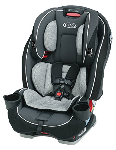 Graco SlimFit 3 in 1 Convertible Car Seat | Infant to Toddler Car Seat, Saves Space in your Back Seat, Darcie (Double Stroller For Newborn And 2 Year Old)