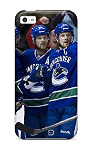 Hot Vancouver Canucks (3) First Grade Tpu Phone Case For Iphone 5c Case Cover