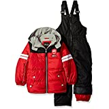 iXtreme Toddler Boys' Active Colorblock Snowsuit, Red, 2T