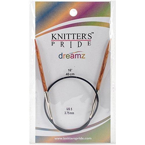 Fixed Circular Knitting Needles (Knitter's Pride 5/3.75mm Dreamz Fixed Circular Needles, 16