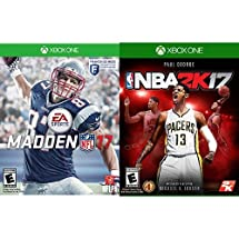 Amazon.com: Madden NFL 17 + NBA 2K17 - Xbox One: Video Games