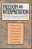 Freedom and Interpretation, , 0465025390