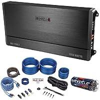 Package:MB Quart DA1-1200.2 1200W RMS 2Channel ClassD Car Audio Amplifier+Rockville RWK41 4 Gauge 2Channel Kit w/Rca Cables+Rockville RXC4D 4 Farad/12 V Digital pwr Capacitor w/24 Volt Surge Capacity