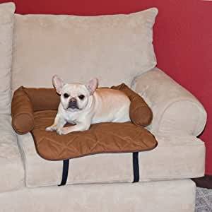 K&H Manufacturing Bolstered Furniture Cover, Small, Chocolate