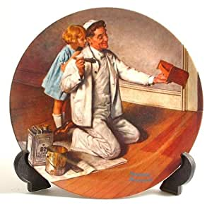 """""""The Painter"""" (Norman Rockwell Collector's Plate)"""