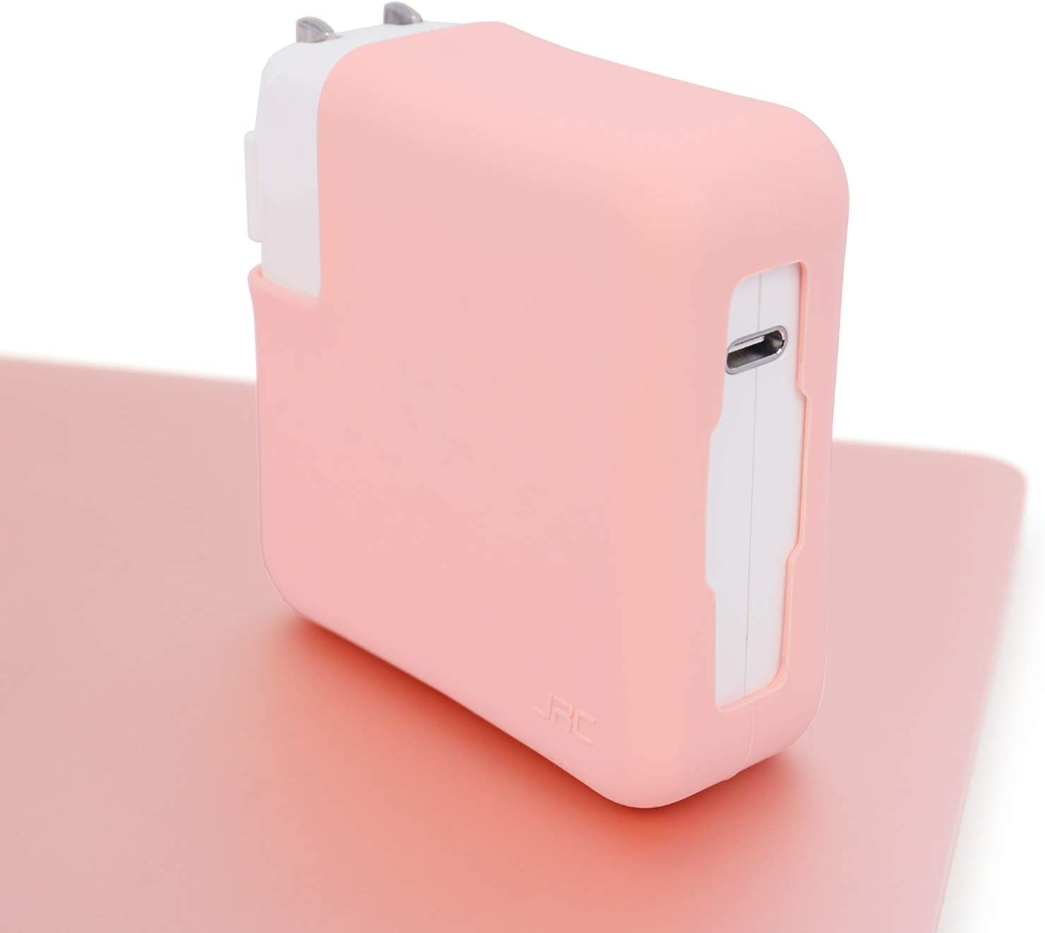 JRCMAX Laptop Charger Case,SiliconeCharger Case Cover for MacBook Pro 13