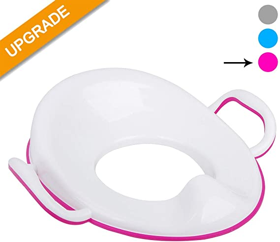 Potty Training Seat with Handles for Boys and Girls
