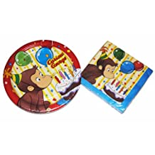 Curious George Party Plates and Napkins by Curious George