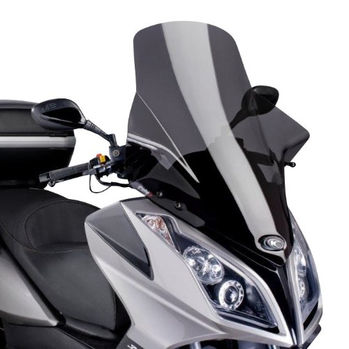 Windshield Puig V-Tech Line Kymco Downtown 300 i 09-16 dark smoke