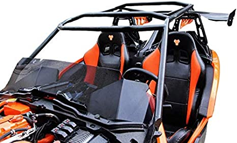 Canvas Sold Separately Twist Dynamics Metal Frame Protective Top for Polaris Slingshot Made With Aluminum Tubing Afterburner Orange