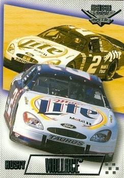 (Rusty Wallace trading card (Auto Racing) 2001 Wheels High Gear #32)