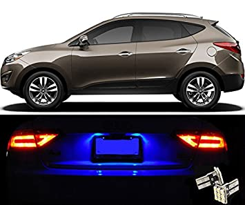 elitetech Premium License Plate LED luces (par) para Hyundai Tucson T10 9-SMD