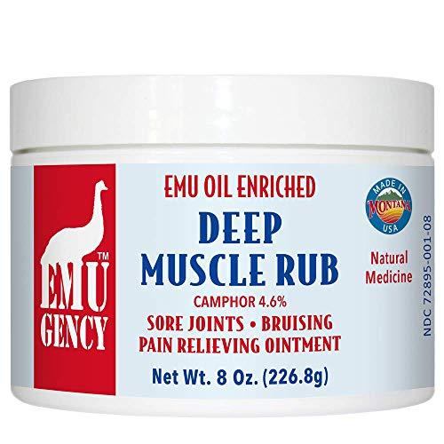 Montana Emu Ranch – Emu Body Balm 8 Ounces – Enhanced with Pure Emu Oil