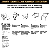 Officemate Hanging File Frame, Letter