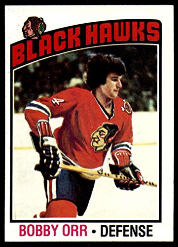 1976-77 Topps #213 Bobby Orr Near Mint or Better Blackhawks ()