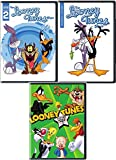 Wacky Looney Toons DVD Collection Center Stage & The Looney Tunes Show with Bugs Bunny, Daffy Duck, Tazmanian Devil & Cartoon Characters 3 Disc Set