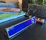 Fantasy Glass Works Hand Crafted Kaleidoscope Blue Simcha Design