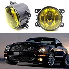 This page features one set aftermarket OEM fit selective yellow lens fog lamp assemblies with clear lens H11 halogen bulbs for vehicles: 2010-up Acura RDX 2011-2014 Acura TSX 2012-2014 Acura TL 2013-2016 Acura ILX 2012-2015 FIAT 500 (D...