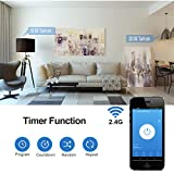 DEWENWILS WiFi Smart Plug Outlet, Voice and App