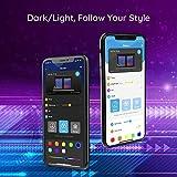 MINGER LED Strip Lights Bluetooth, 16.4ft Music