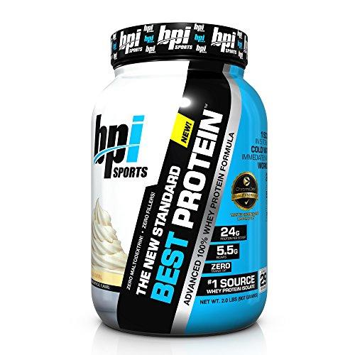 BPI Sports Best Protein Whey Formula, Vanilla Swirl, 2 Pound