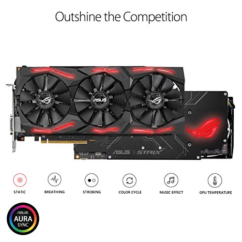Asus Radeon RX VEGA 56 8 GB ROG STRIX Video Card (ROG-STRIX-RXVEGA56